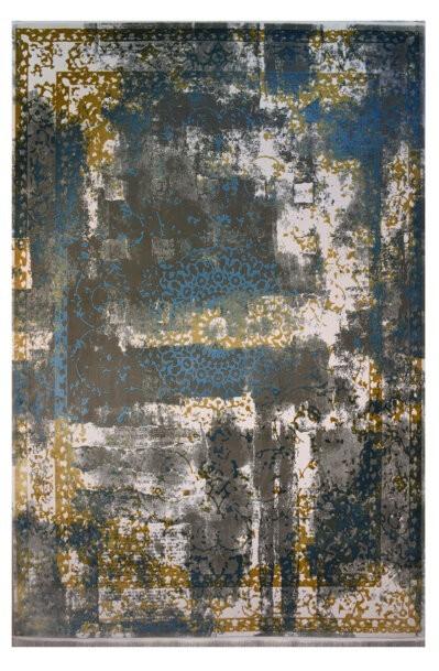 فرش ماشینی کلکسیون کهنه نما ( وینتیج ) کد 11-033-77 برجسته