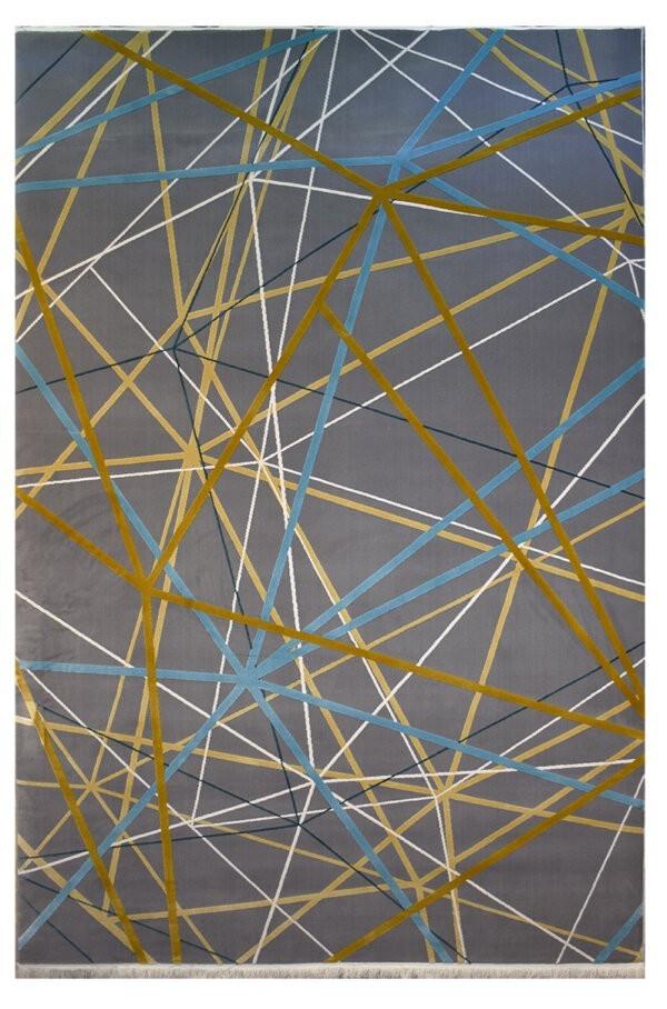 فرش ماشینی کلکسیون کهنه نما ( وینتیج ) کد 23-102 برجسته