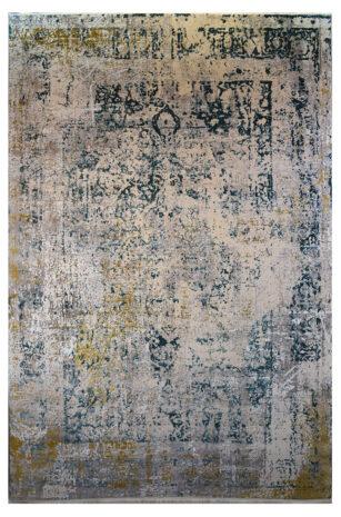 فرش ماشینی کلکسیون کهنه نما ( وینتیج ) کد 23-160 برجسته