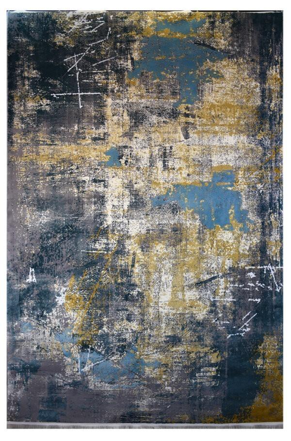 فرش ماشینی کلکسیون کهنه نما ( وینتیج ) کد 11-054-77 برجسته