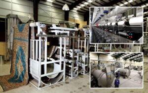 مراحل تولید فرش ماشینی ( فصل 4 ، بخش 10 ) - مرحله آهار و تکمیل فرش