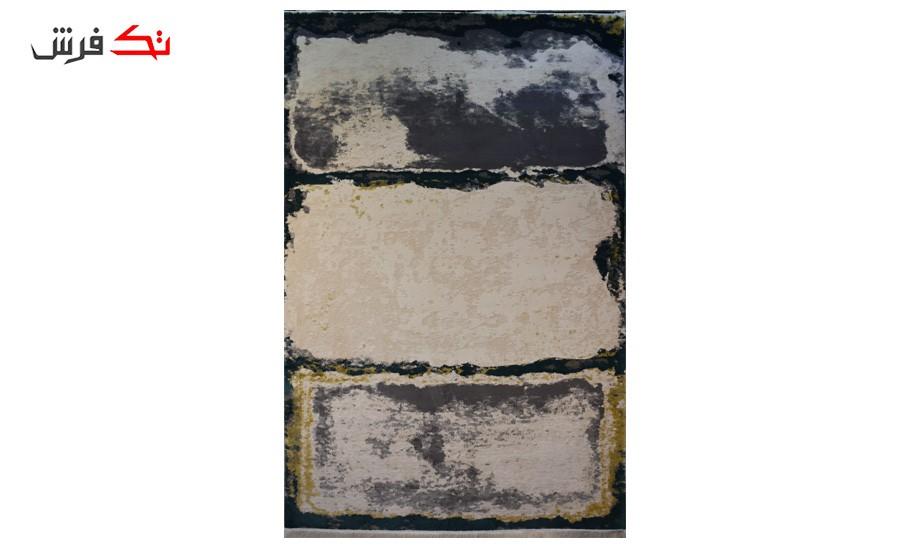فرش ماشینی کلکسیون کهنه نما ( وینتیج ) کد 24-136 برجسته