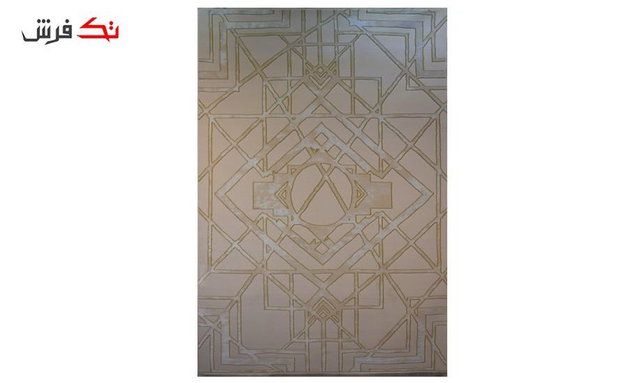 فرش ماشینی کلکسیون کهنه نما ( وینتیج ) کد 13-018-77 برجسته