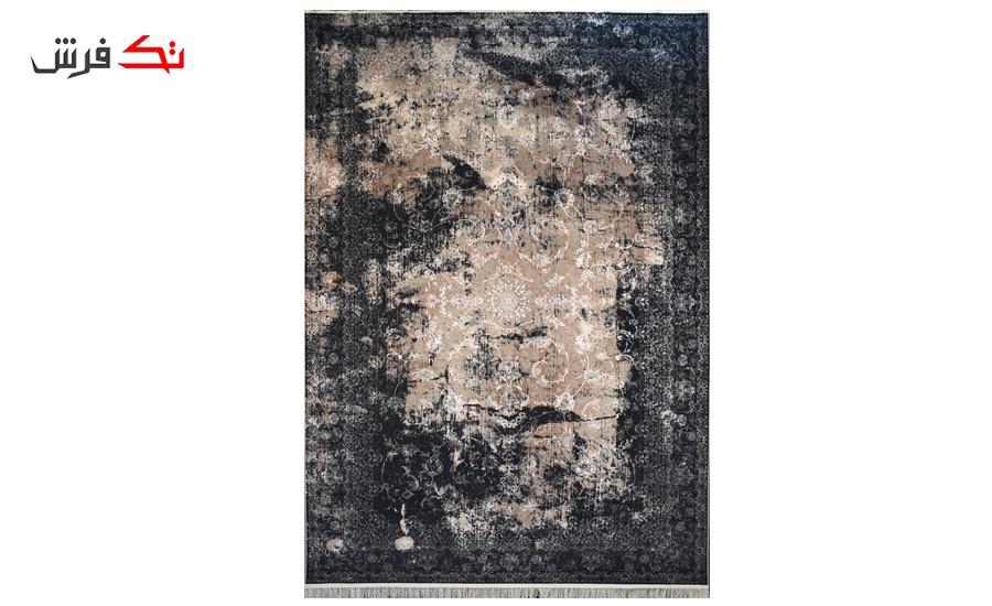فرش ماشینی کلکسیون کهنه نما ( وینتیج ) کد 11-804 برجسته