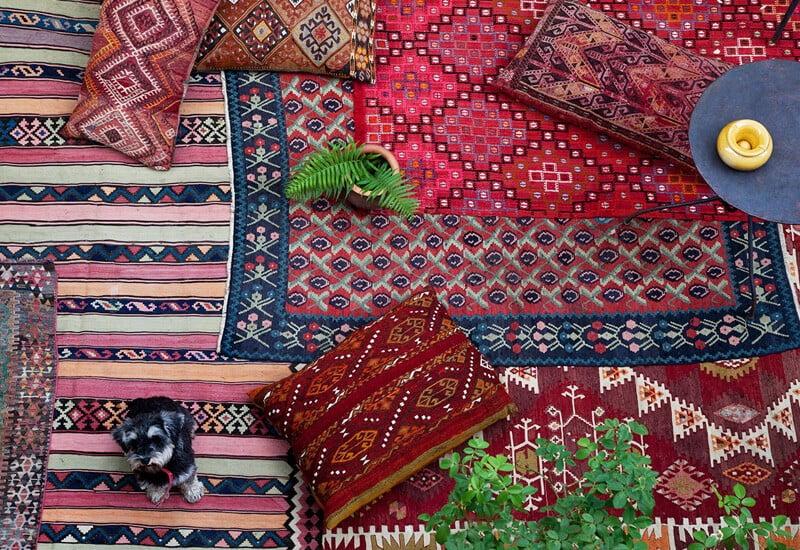 انواع فرش دستباف