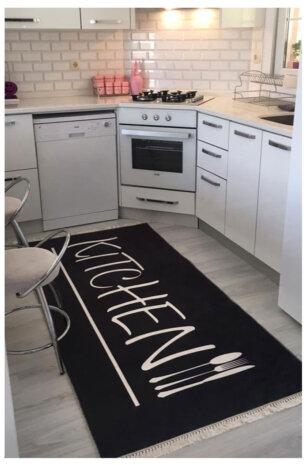 فرش ماشینی کلکسیون مدرن طرح آشپزخانه کد K 0006