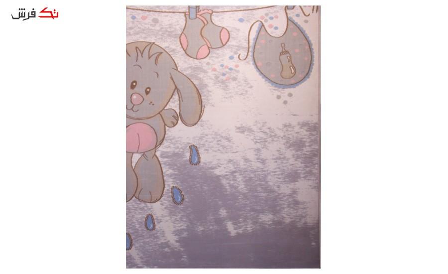 فرش ماشینی اتاق کودک طرح خرگوش کد 311