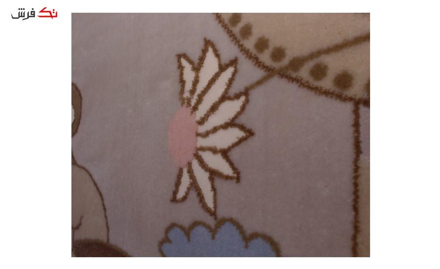فرش ماشینی اتاق کودک طرح زرافه کد 305
