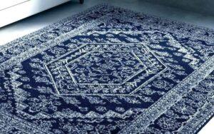 فرش سرمه ای در دکوراسیون