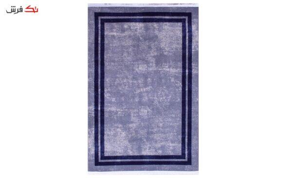 فرش فانتزی کلکسیون ورساچه رنگ طوسی , مشکی 1.5*1 متری