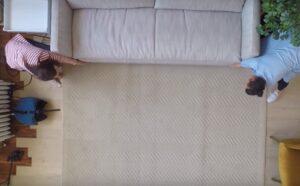 چیدمان اتاق با انواع فرش