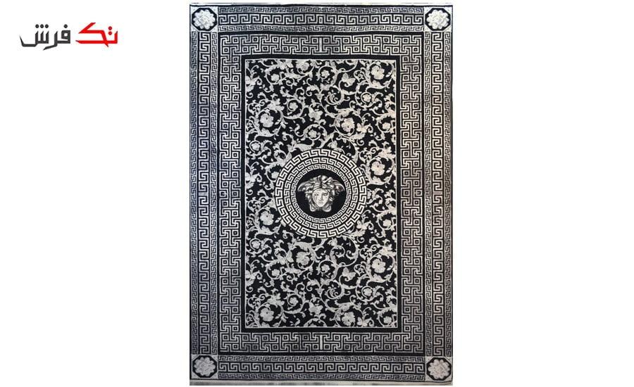 فرش ماشینی کلکسیون کهنه نما ( وینتیج ) کد 31-168 برجسته