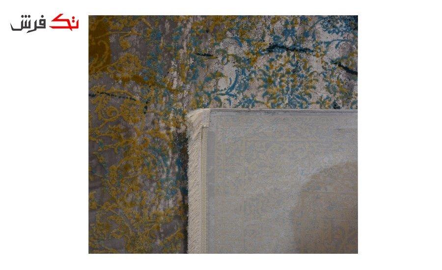 فرش ماشینی کلکسیون کهنه نما ( وینتیج ) کد 21-162 برجسته
