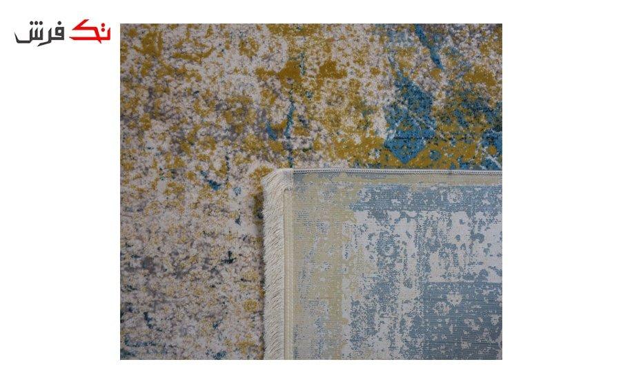فرش ماشینی کلکسیون کهنه نما ( وینتیج ) کد 21-166 برجسته