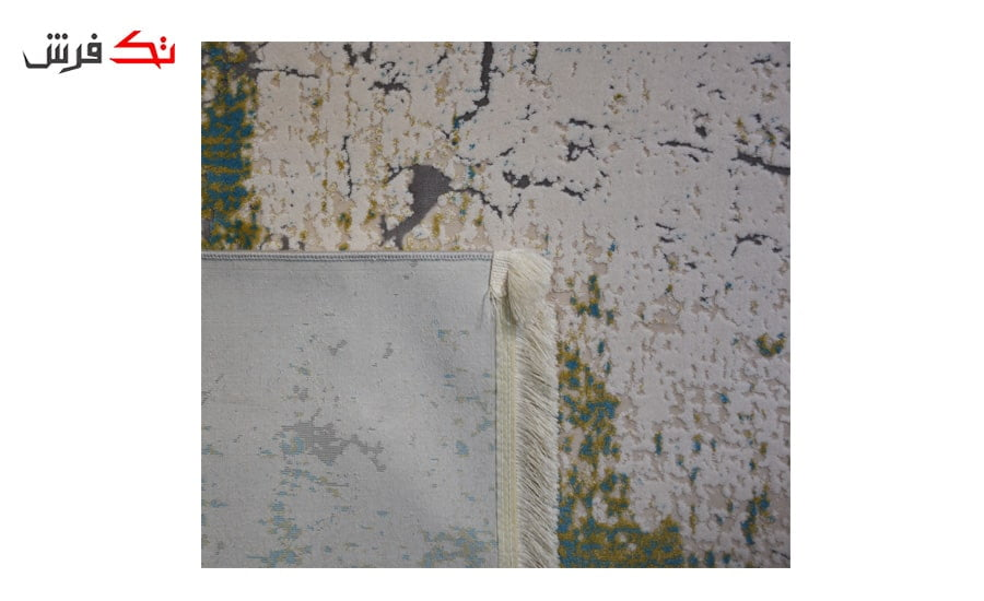 فرش ماشینی کلکسیون کهنه نما ( وینتیج ) کد 22-114 برجسته
