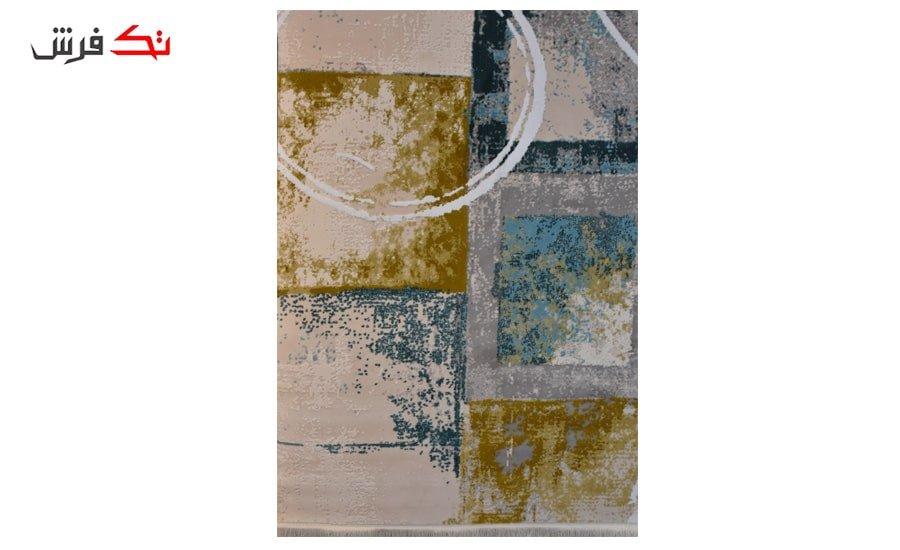 فرش ماشینی کلکسیون کهنه نما ( وینتیج ) کد 11-030-77 برجسته