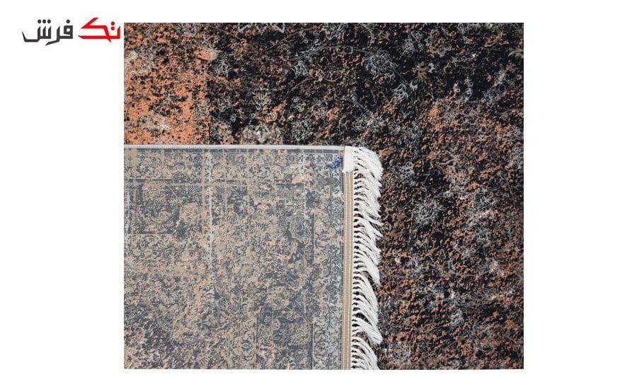 فرش ماشینی کلکسیون کهنه نما ( وینتیج ) کد 12-803 برجسته
