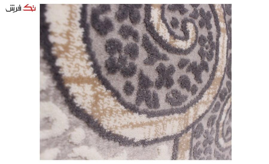 فرش ماشینی کلکسیون کهنه نما ( وینتیج ) کد 411 برجسته
