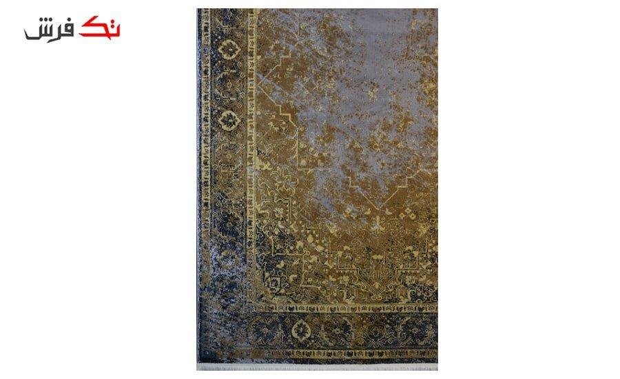 فرش ماشینی کلکسیون کهنه نما ( وینتیج ) کد 31-157 برجسته