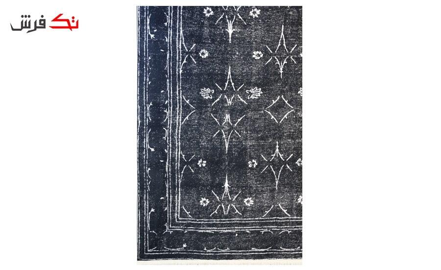 فرش ماشینی کلکسیون کهنه نما ( وینتیج ) کد 31-137 برجسته