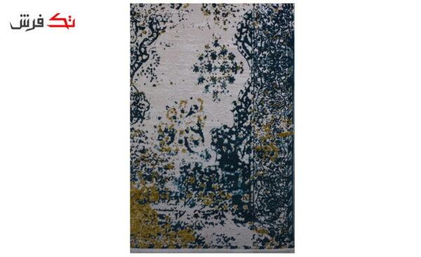 فرش ماشینی کلکسیون کهنه نما ( وینتیج ) کد 22-155 برجسته