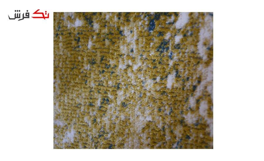 فرش ماشینی کلکسیون کهنه نما ( وینتیج ) کد 22-100 برجسته