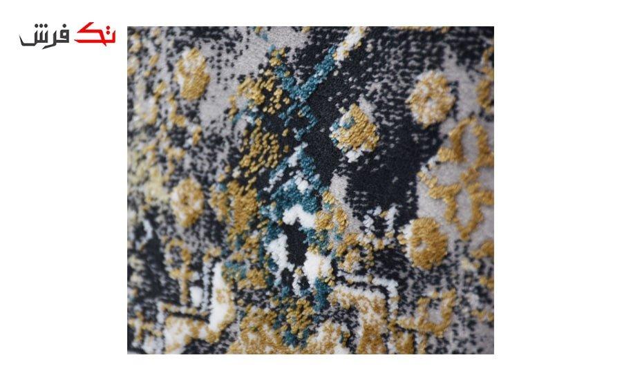 فرش ماشینی کلکسیون کهنه نما ( وینتیج ) کد 33-161 برجسته