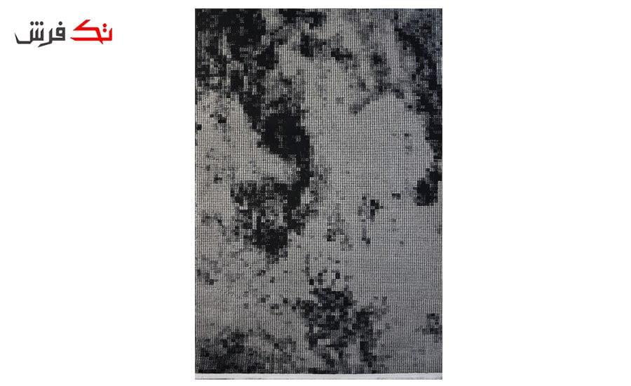 فرش ماشینی کلکسیون کهنه نما ( وینتیج ) کد 31-153 برجسته