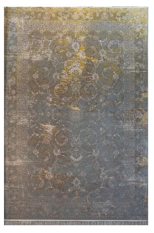 فرش ماشینی کلکسیون کهنه نما ( وینتیج ) کد 1-807 برجسته