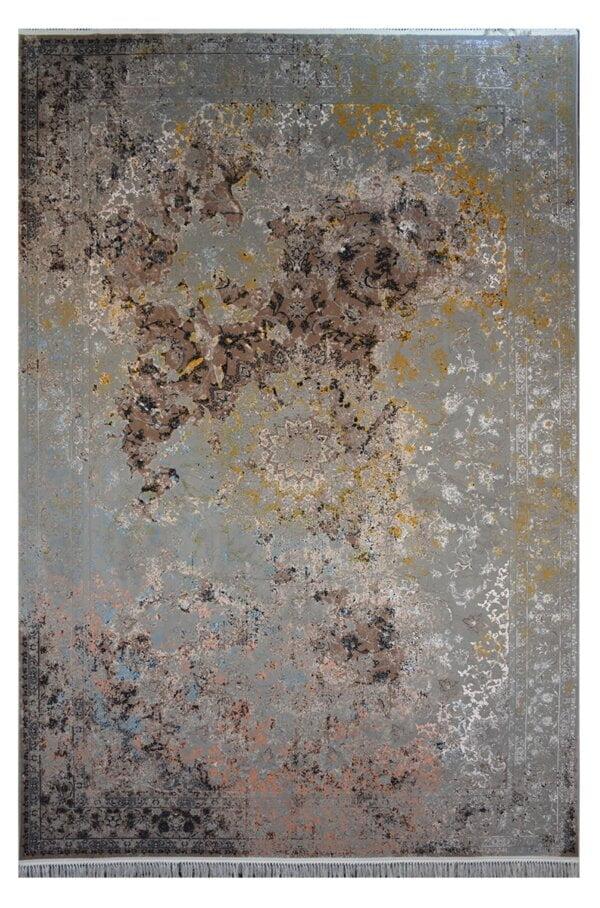 فرش ماشینی کلکسیون کهنه نما ( وینتیج ) کد 12-806 برجسته