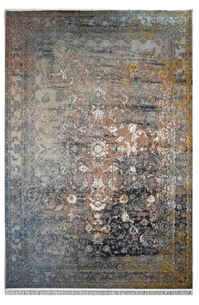 فرش ماشینی کلکسیون کهنه نما ( وینتیج ) کد 11-803 برجسته