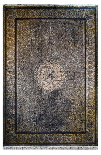 فرش ماشینی کلکسیون کهنه نما ( وینتیج ) کد 11-802 برجسته