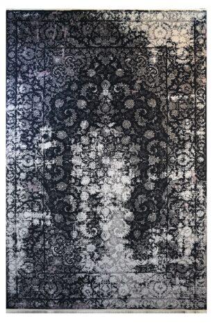 فرش ماشینی کلکسیون کهنه نما ( وینتیج ) کد 31-146 برجسته