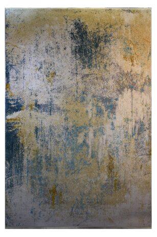 فرش ماشینی کلکسیون کهنه نما ( وینتیج ) کد 21-169 برجسته