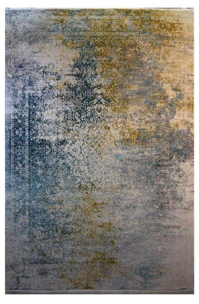فرش ماشینی کلکسیون کهنه نما ( وینتیج ) کد 21-167 برجسته