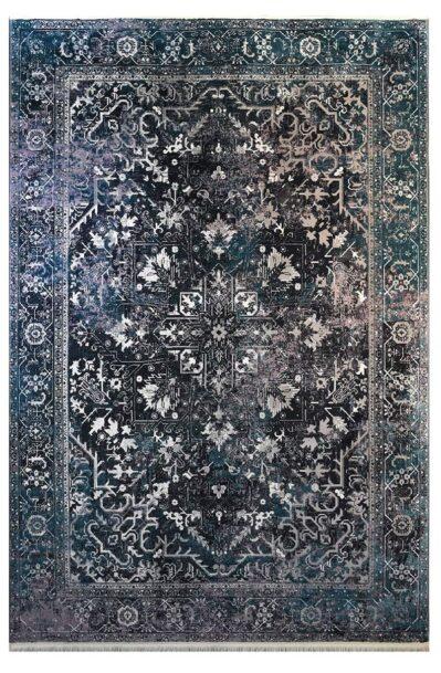 فرش ماشینی کلکسیون کهنه نما ( وینتیج ) کد 32-163 برجسته