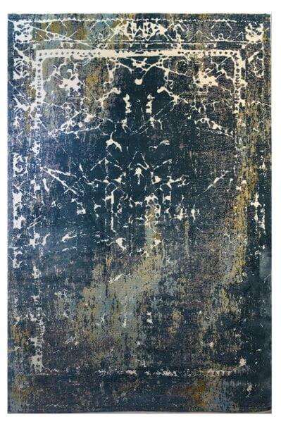 فرش ماشینی کلکسیون کهنه نما ( وینتیج ) کد 21-114 برجسته
