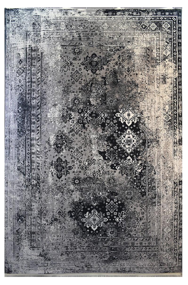 فرش ماشینی کلکسیون کهنه نما ( وینتیج ) کد 32-161 برجسته