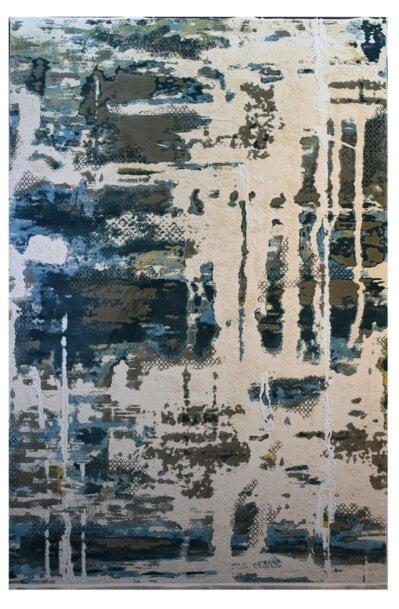 فرش ماشینی کلکسیون کهنه نما ( وینتیج ) کد 11-034-77 برجسته