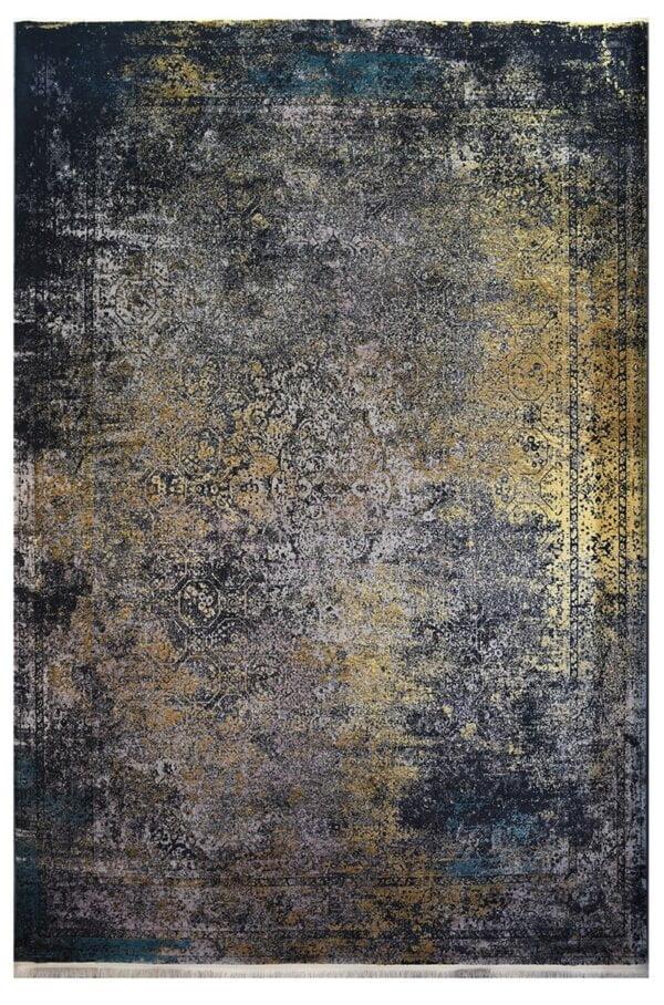 فرش ماشینی کلکسیون کهنه نما ( وینتیج ) کد 31-167 برجسته