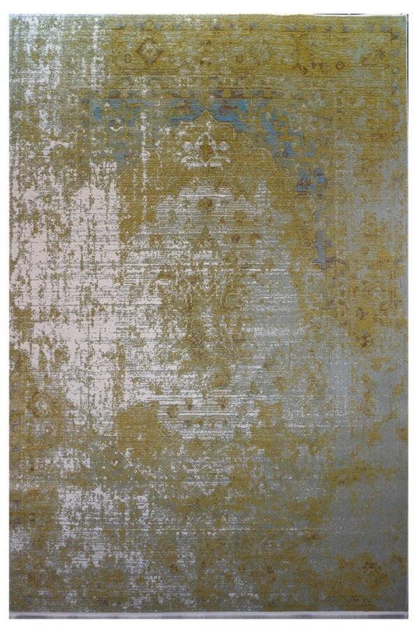 فرش ماشینی کلکسیون کهنه نما ( وینتیج ) کد 11-110 برجسته