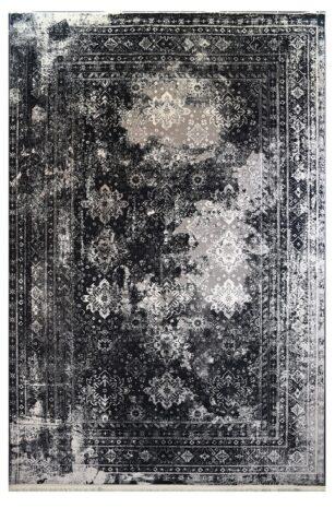 فرش ماشینی کلکسیون کهنه نما ( وینتیج ) کد 31-161 برجسته