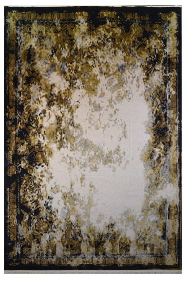 فرش ماشینی کلکسیون کهنه نما ( وینتیج ) کد 32-178 برجسته