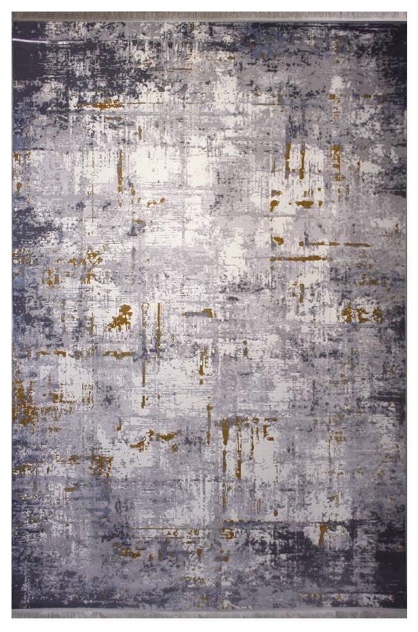 فرش ماشینی کلکسیون کهنه نما ( وینتیج ) کد 428 برجسته