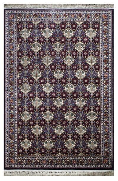 فرش ماشینی گبه کد 501 زمینه سرمه ای
