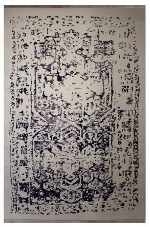 فرش ماشینی کلکسیون کهنه نما ( وینتیج ) کد 400 برجسته