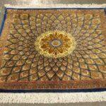 فرش قم   تاریخچه و تصاویر فرش های دستباف قم