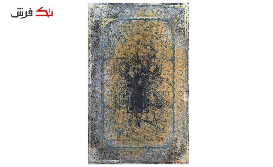 فرش ماشینی کلکسیون کهنه نما ( وینتیج ) کد 33-157 برجسته