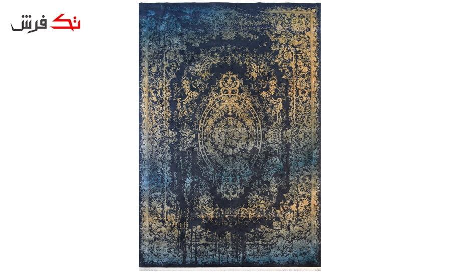 فرش ماشینی کلکسیون کهنه نما ( وینتیج ) کد 32-143 برجسته