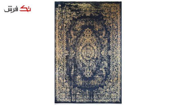 فرش ماشینی کلکسیون کهنه نما ( وینتیج ) کد 31-143 برجسته